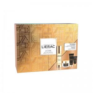 Cofre Lierac Premium La Cura, Crema Premium Voluptuosa, Mascarilla Premium y Contorno de Ojos Premium