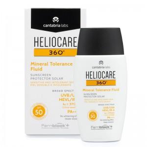 Heliocare 360⁰ Mineral Tolerance Fluid SPF 50