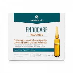 Endocare Radiance C-Proteoglicanos Oil-free ampollas
