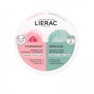 Lierac Duo Mascarillas Hydragenist & Sebologie