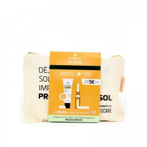 Neceser Heliocare Gel Oil-Free SPF50 + Endocare Radiance C Oil-Free 10 Ampollas