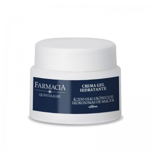 Quintalegre Crema Gel Hidratante Ácido Hialurónico e Hidrosomas de Malva