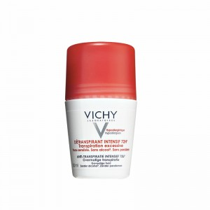 Vichy Stress Resist. Tratamiento Intensivo Anti-Transpirante 72H Desodorante Roll On