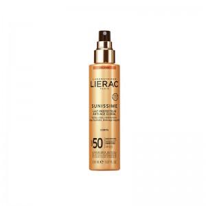 Lierac Sunissime protección solar corporal anti-edad SPF50