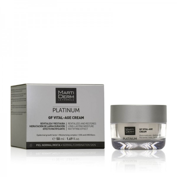 Martiderm Platinum GF Vital-Age Cream Piel Normal y Mixta